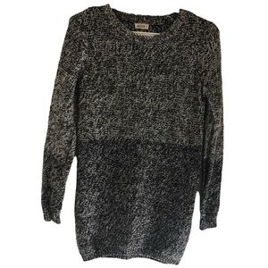 Ardene long knit sweatshirt size S